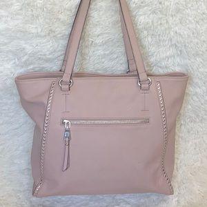 INC Light Pink Blush Studded Handbag Tote Purse